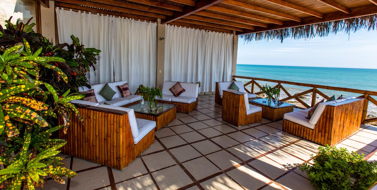 Cozy Ambiences all over Casa de Playa Facilities
